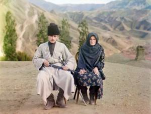 Homem e Mulher, Daguestão, 1910.