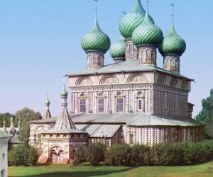 Igreja da Ressurreição, Kostroma, 1910.