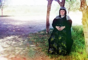 Mulher georgiana, 1910.