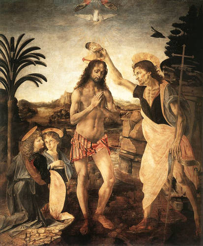The Baptism of Christ, 1472-1475
