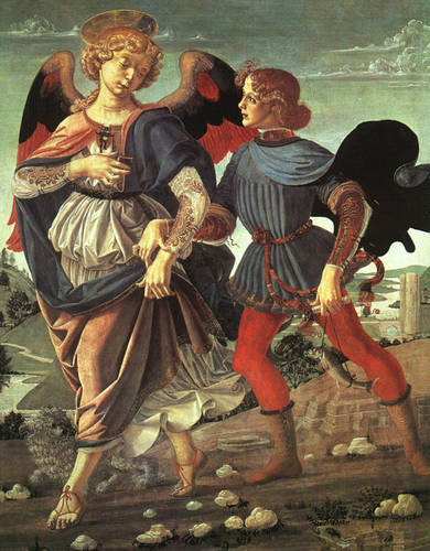 Tobias and the Angel, 1470-80